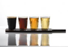 Paneled Beer Glasses